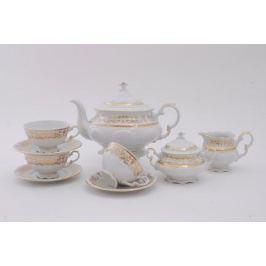 Сервиз чайный Соната Золотая элегантность, 15 пр. 07160725-1373 Leander