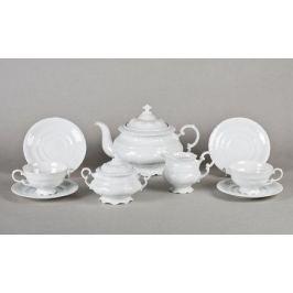 Сервиз чайный Соната Белоснежная классика, 15 пр. 07160725-0000 Leander