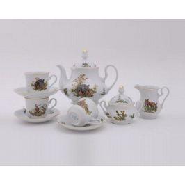 Сервиз чайный Мэри-Энн Лесная сказка, 15 пр. 03160725-0363 Leander