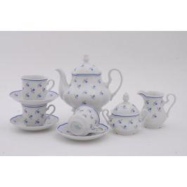 Сервиз чайный Мэри-Энн Незабудки, 15 пр. 03160725-0887 Leander