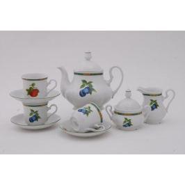 Сервиз чайный Мэри-Энн Фруктовые сады, 15 пр. 03160725-080H Leander