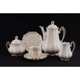 Сервиз чайный Виктория Слоновая кость, 15 пр. 62560725-2215 Leander