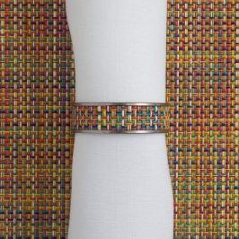 Кольцо для салфеток Confetti, 1.3x4.1 см, жаккардовое плетение 0802-MNBK-CONF CHILEWICH