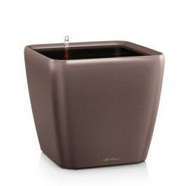 Кашпо Квадро 35 LS, кофе, с системой полива и съемным горшком 16161 Lechuza