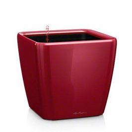 Кашпо Квадро 43 LS, красное, с системой полива и съемным горшком 16187 Lechuza