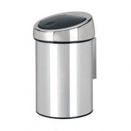 Ведро для мусора Touch Bin (3 л), 18.5х28см, стальное 363962 Brabantia