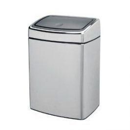 Ведро для мусора Touch Bin (10 л), 40.6х27.5х22.5 см,стальное 477225 Brabantia
