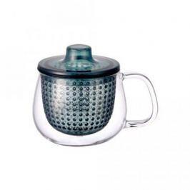 Кружка-чайник Unimug (0.35 л), 7.8х9 см, темно-синий 22916 Kinto