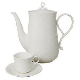Набор чашек (0.12 л) с блюдцами для кофе Шёлк, 12 пр. N9072-52361AL Narumi