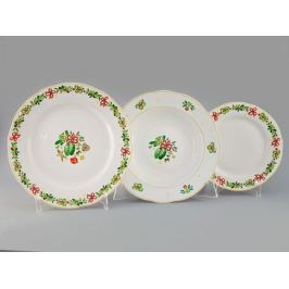 Набор тарелок Мэри-Энн Рождество, 18 пр. 03160119-2571 Leander