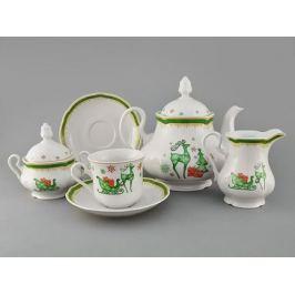 Сервиз чайный Мэри-Энн Новогодний, 15 пр. 03160725-2573 Leander