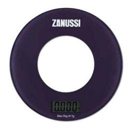 Весы кухонные цифровые Bologna, 18х18х1.8 см, фиолетовые ZSE21221BF Zanussi
