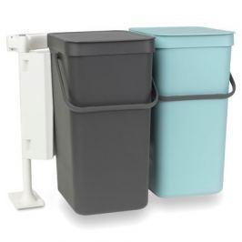 Набор ведер для мусора Sort & Go (16 л), 50х36х46 см, 2 шт. 110023 Brabantia