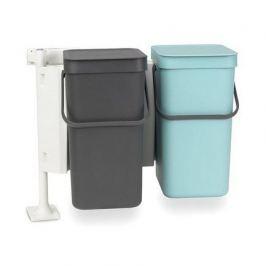 Набор ведер для мусора Sort & Go (12 л), 48х33.5х46 см, 2 шт. 109980 Brabantia