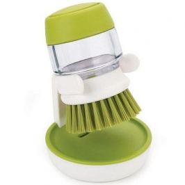 Щетка с дозатором моющего средства Palm Scrub, зеленая 85004 Joseph & Joseph