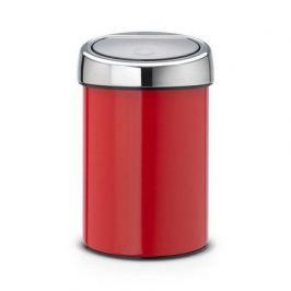 Ведро для мусора Touch Bin (3 л), красное 364426 Brabantia