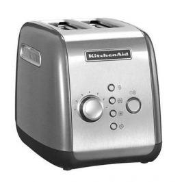 Тостер на 2 ломтика, серебристый 5KMT221ECU KitchenAid