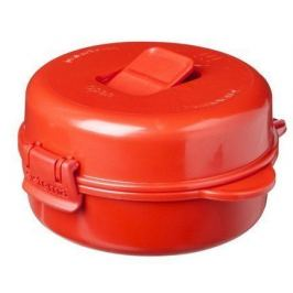 Омлетница-яйцеварка Microwave (271 мл), 12.5х13.7х6.7 см, красная 1117 Sistema