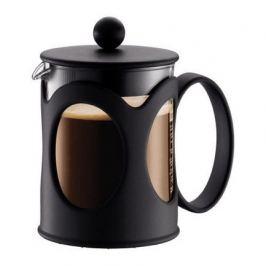 Кофейник с прессом Kenya 0.5 л. чёрный 10683-01 Bodum