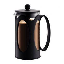 Кофейник с прессом Kenya 1.0л черный 10685-01 Bodum