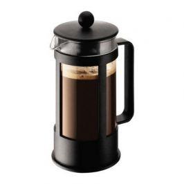 Кофейник с прессом Kenya 0.35 л. черный 1783-01LID Bodum