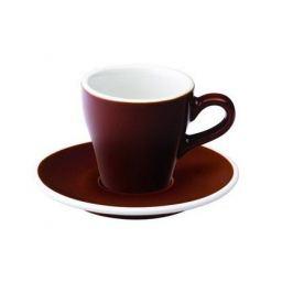Кофейная пара Loveramics Tulip (0.08 л), коричневая C087-41BBR/C087-42BBR Loveramics