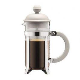 Кофейник с прессом Caffettiera 0.35 л. белый 1913-913 Bodum