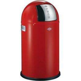 Ведро для мусора с заслонкой (22 л), 35х63 см, красное (117564) 175531-02 Wesco
