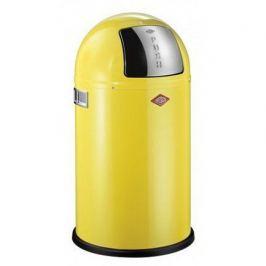 Ведро для мусора с заслонкой (22 л), 35х63 см, желтое (117565) 175531-19 Wesco