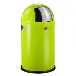 Ведро для мусора с заслонкой (22 л), 35х63 см, зеленый (117566) 175531-20 Wesco