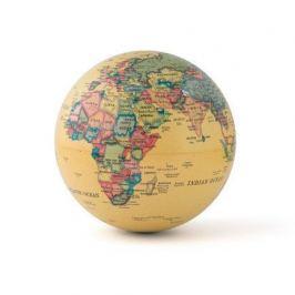 Глобус вращающийся Magic 360°, 14х14х14 см, бежевый 26174 Balvi