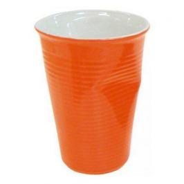 Мятый стаканчик керамический оранжевый 0,24л 080740G Ceraflame