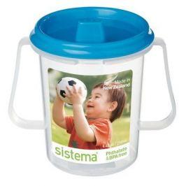 Детская чашка с трубочкой (250 мл), 11х8х10.6 см 67 Sistema