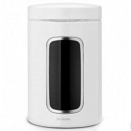 Контейнер для сыпучих продуктов с окном (1.4 л), белый 491009 Brabantia