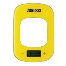 Весы кухонные цифровые Venezia, 23.5x16.5x1.6 см, желтые ZSE22222CF Zanussi