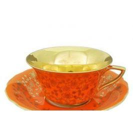 Чашка низкая Виндзор (0.15 л) с блюдцем 13120424-J341 Leander