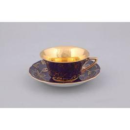 Чашка низкая Виндзор (0.15 л) с блюдцем 13120424-D411 Leander