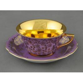 Чашка низкая Виндзор (0.15 л) с блюдцем 13120424-G341 Leander