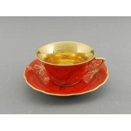 Чашка низкая Виндзор (0.15 л) с блюдцем 13120424-F411 Leander