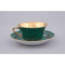 Чашка низкая Виндзор (0.15 л) с блюдцем 13120424-B411 Leander