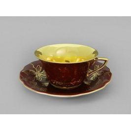 Чашка низкая Виндзор (0.15 л) с блюдцем 13120424-A411 Leander