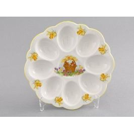 Поднос для яиц Мэри-Энн окантовка с золотом 20112455-0884 Leander