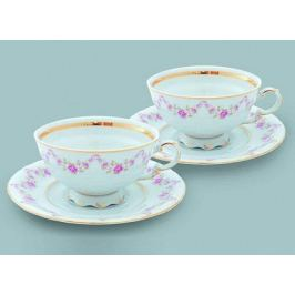 Набор из двух чайных пар (0.2 л) 07140425-0158 Leander