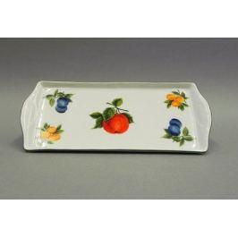 Поднос Мэри-Энн Фруктовые сады, четырехгранный, 21 см 03111745-080H Leander
