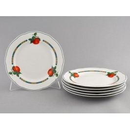 Набор тарелок мелких Мэри-Энн Фруктовые сады, 6 шт. 03160115-080H Leander