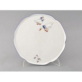 Тарелка для торта Гуси, 28 см 03116015-0807 Leander