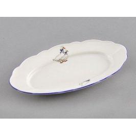 Блюдо овальное Гуси, 17 см 03116223-0807 Leander