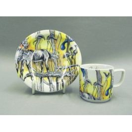 Чашка с блюдцем Сабина Сафари (0.1 л) 02120413-0015 Leander