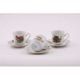 Набор чашек высоких Мэри-Энн Лесная сказка (0.15 л), 6шт 03160414-0363 Leander