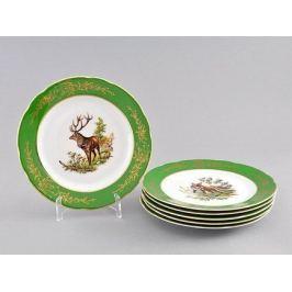 Набор тарелок мелких Мэри-Энн Золото полей, 19 см, 6 шт. 03160319-0763 Leander